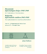 Documents diplomatiques belges 1941-1960