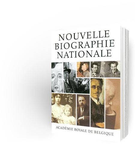 Nouvelle Biographie nationale, volume 1