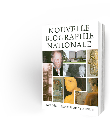 Nouvelle Biographie nationale, volume 7