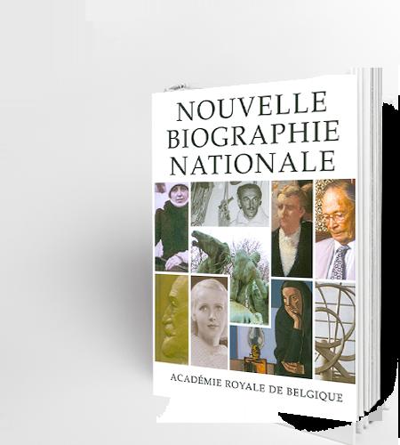 Nouvelle Biographie nationale, volume 10